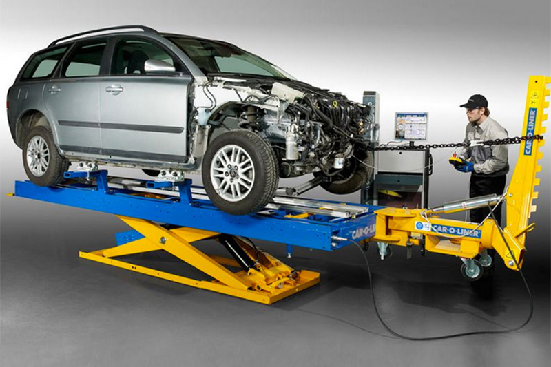 high quality crash repairs chassis straightening